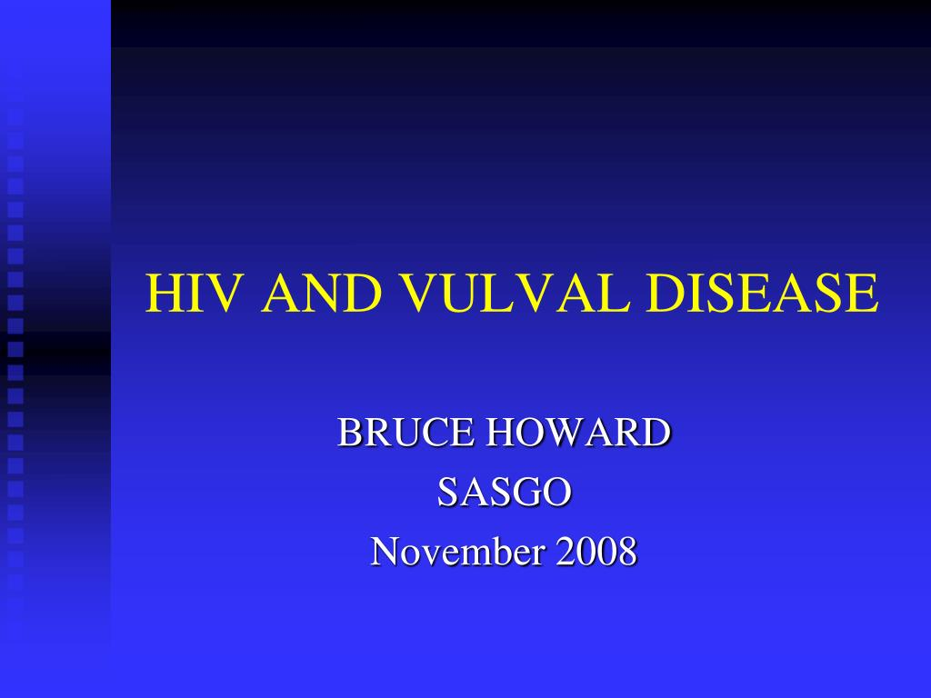 hiv and vulval disease l.