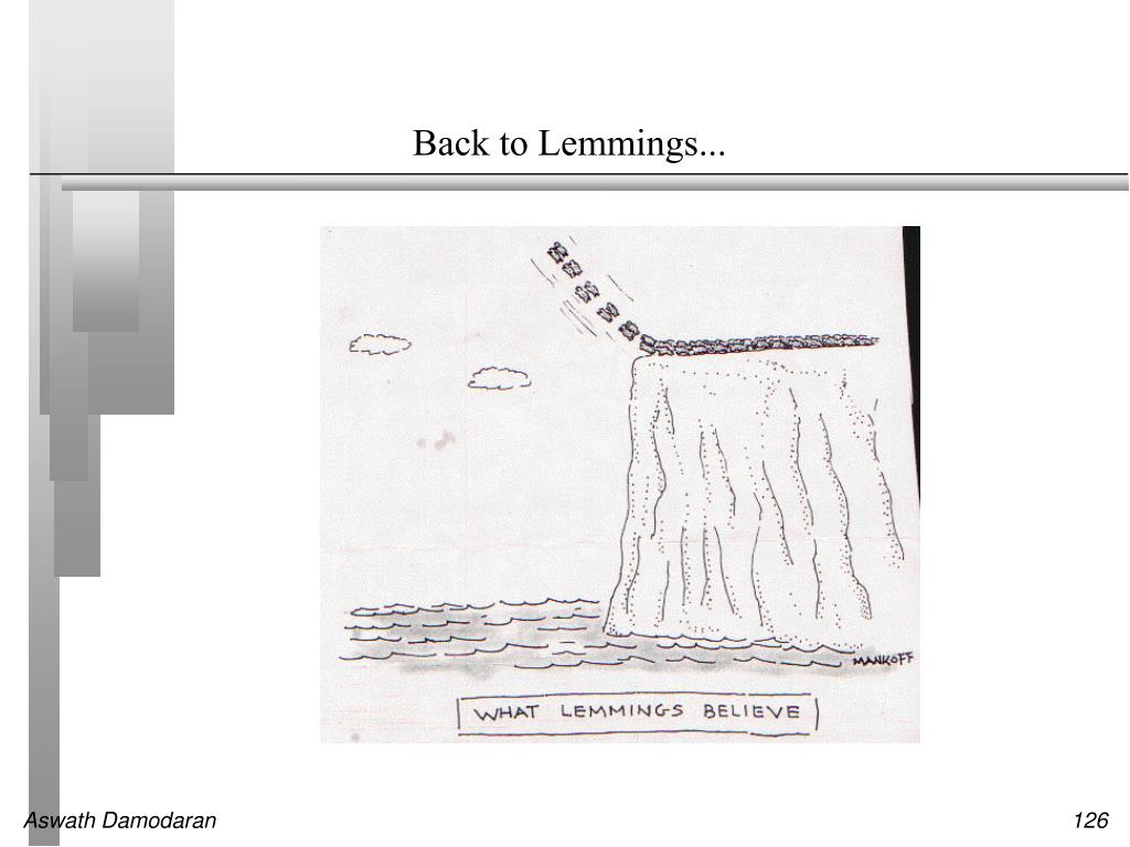 Back to Lemmings...