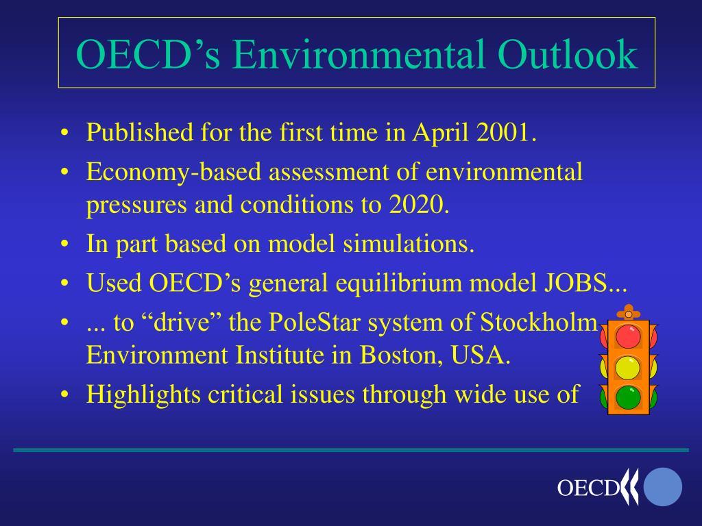 OECD's Environmental Outlook