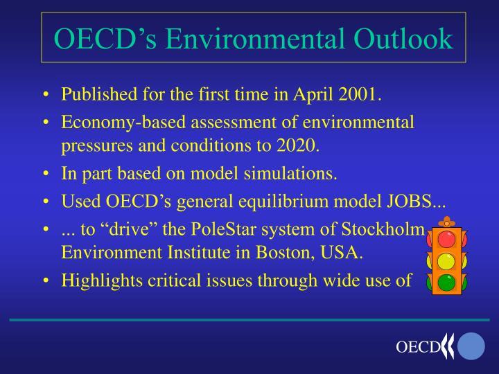 Oecd s environmental outlook