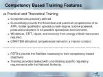 competency based training features12