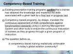 competency based training9
