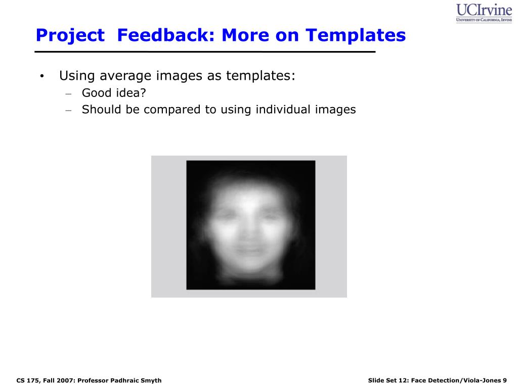 Project  Feedback: More on Templates