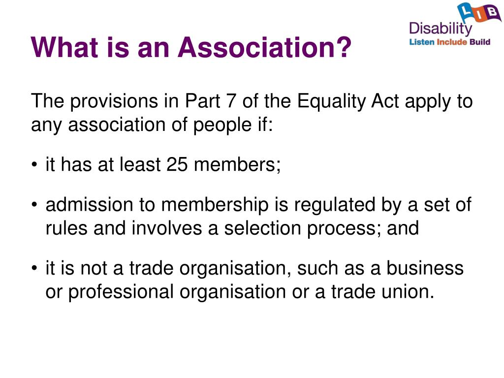 What is an Association?