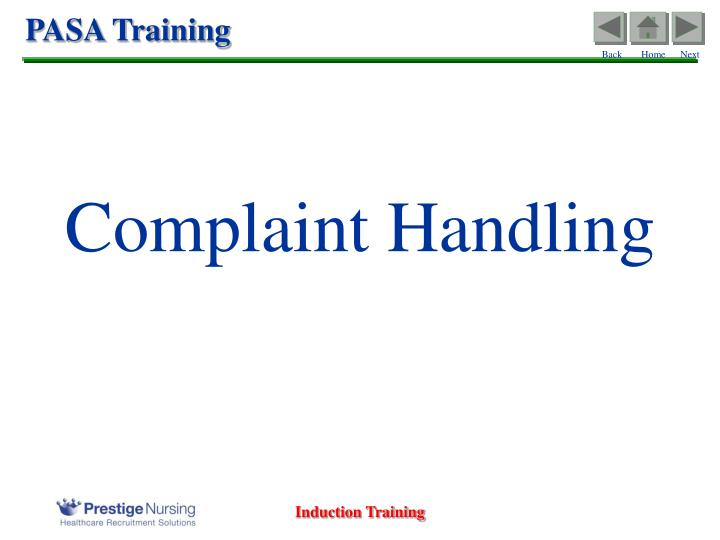 Call centre course training materials   spearhead training.