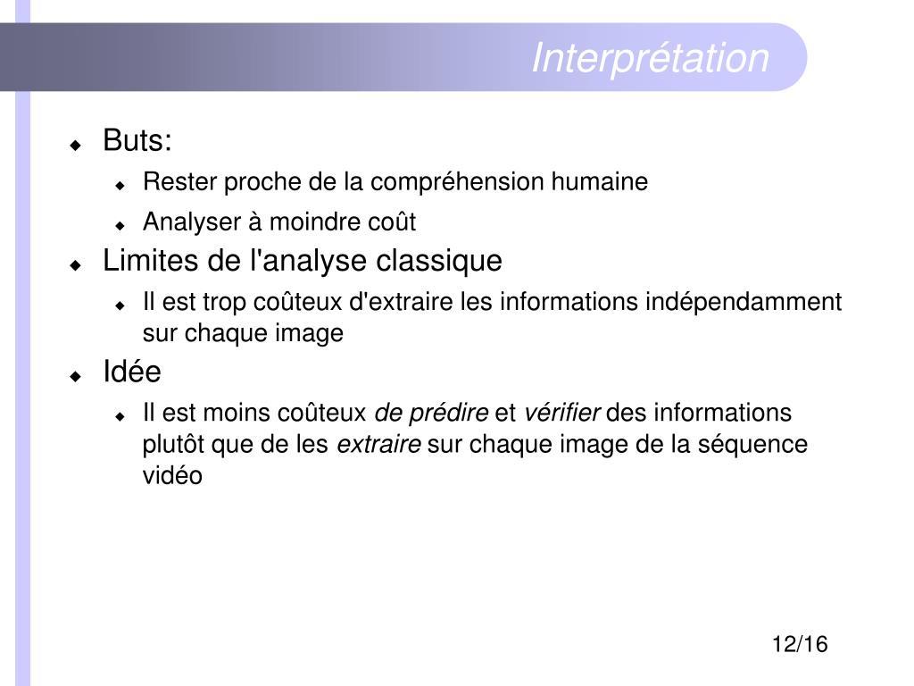 Interprétation