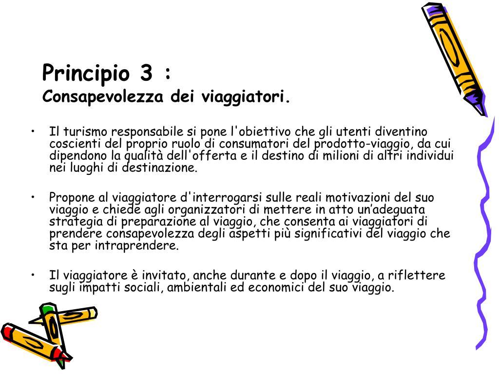 Principio 3 :