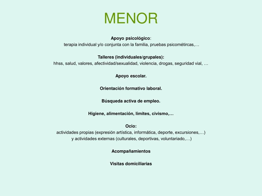 MENOR