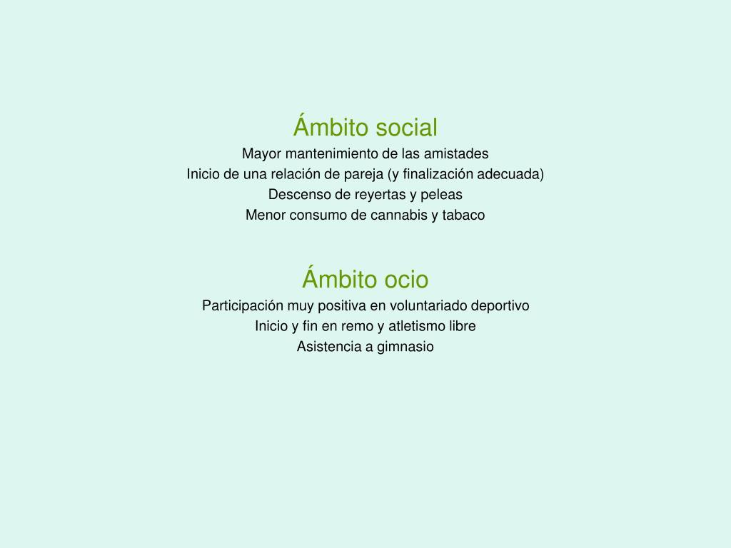 Ámbito social