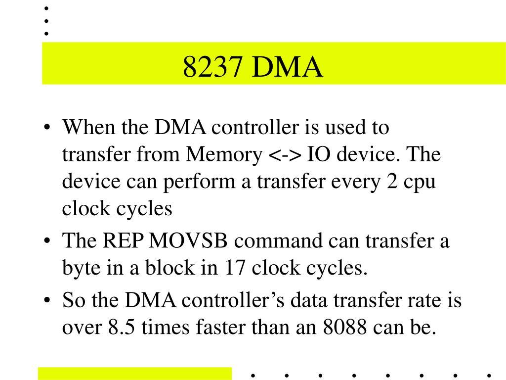 8237 DMA