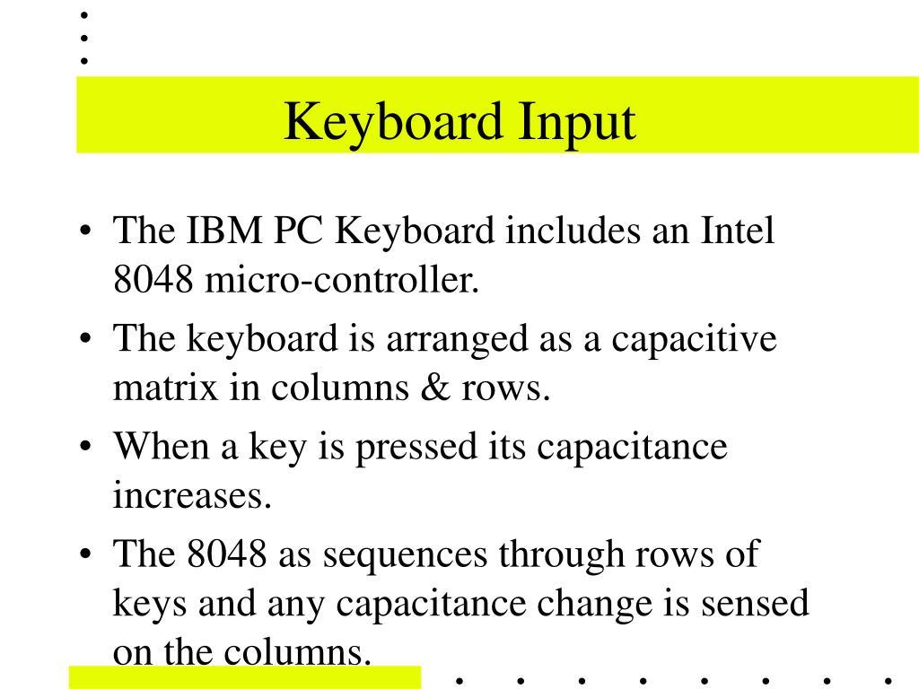 Keyboard Input