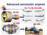advanced aeronautic engines