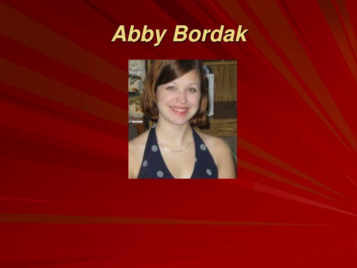 Abby Bordak