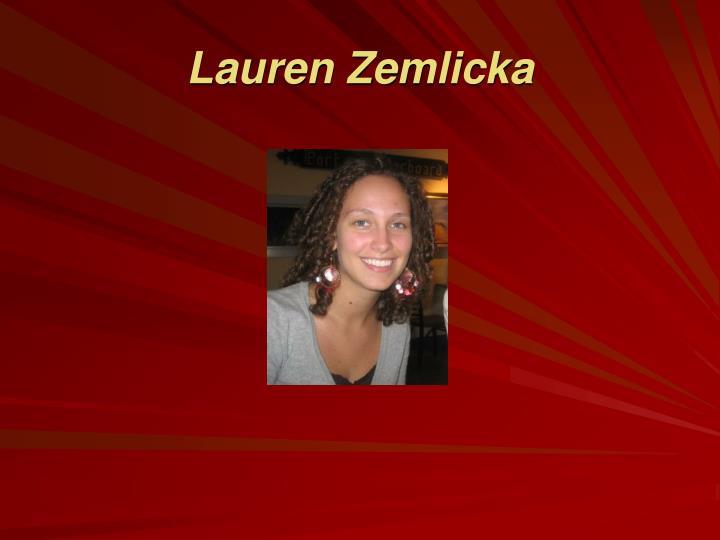 Lauren Zemlicka