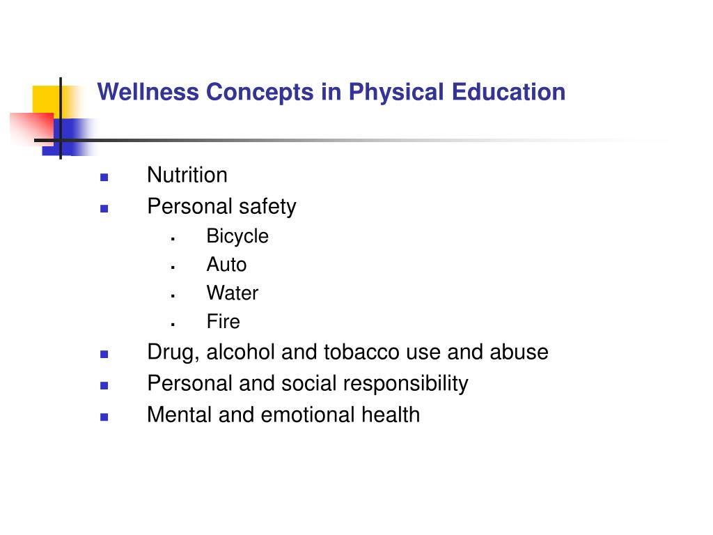 Wellness Concepts in Physical Education