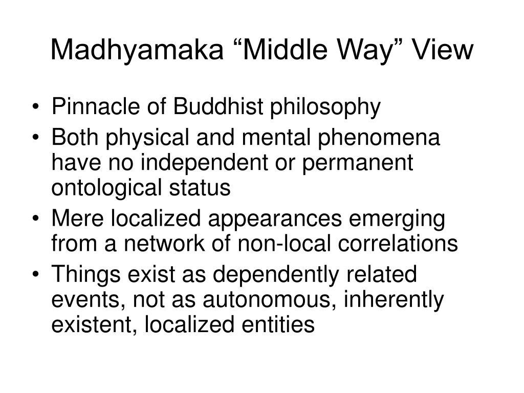 "Madhyamaka ""Middle Way"" View"