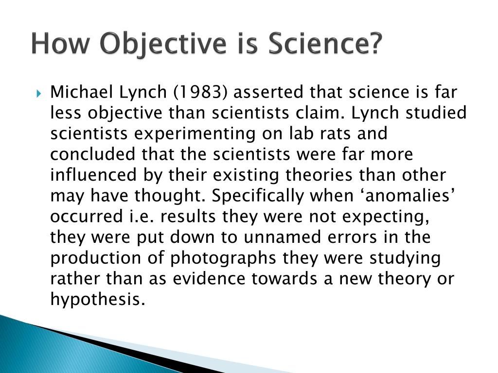 How Objective is Science?