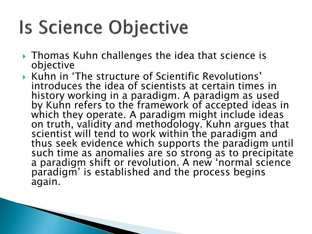 Is Science Objective