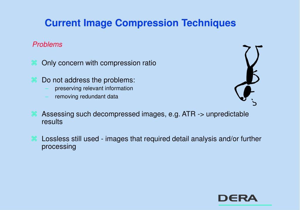 Current Image Compression Techniques