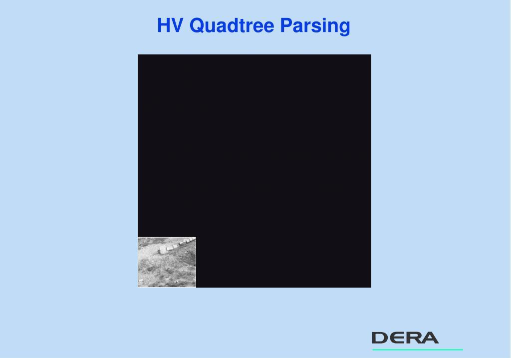 HV Quadtree Parsing