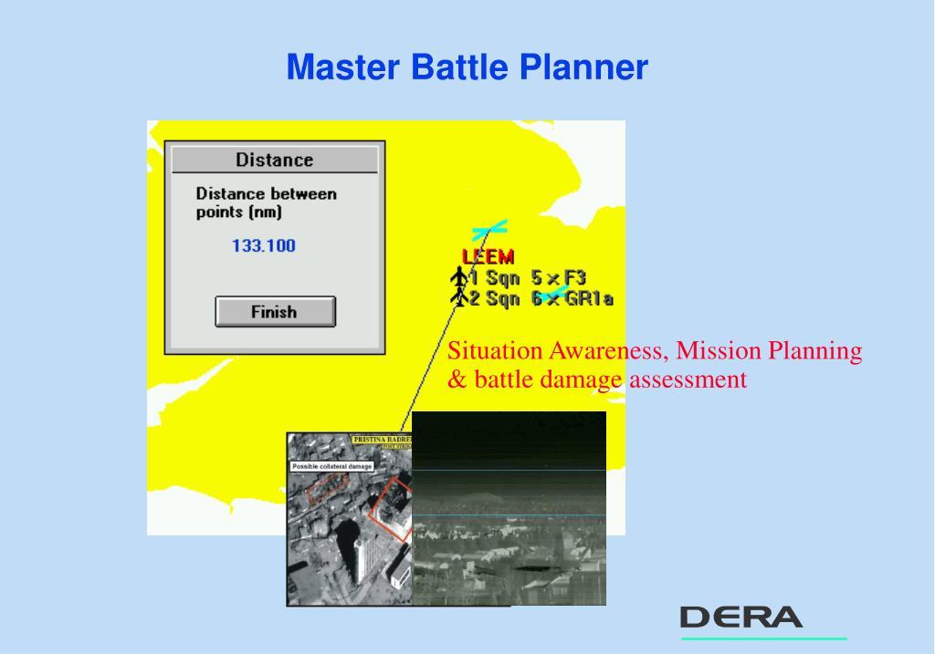 Master Battle Planner