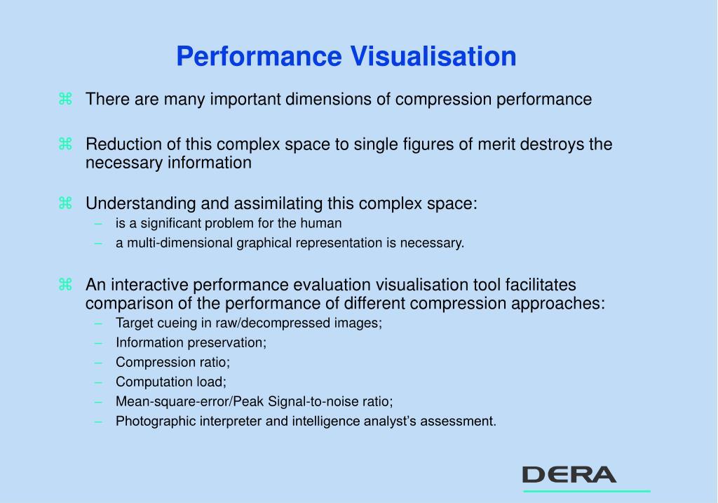 Performance Visualisation