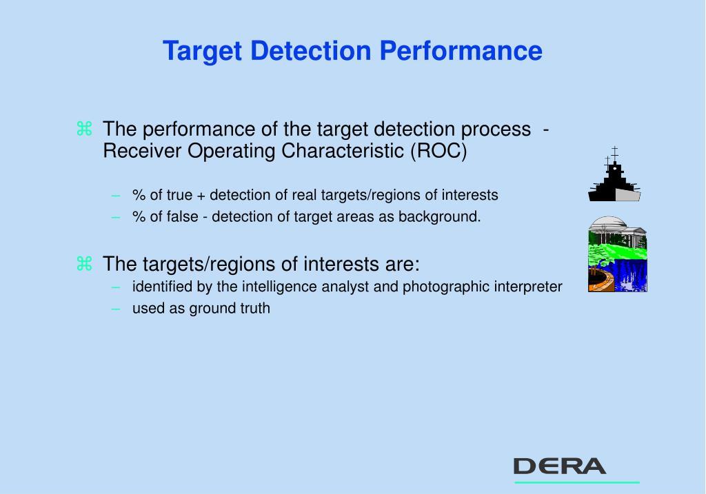 Target Detection Performance