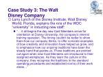 case study 3 the walt disney company