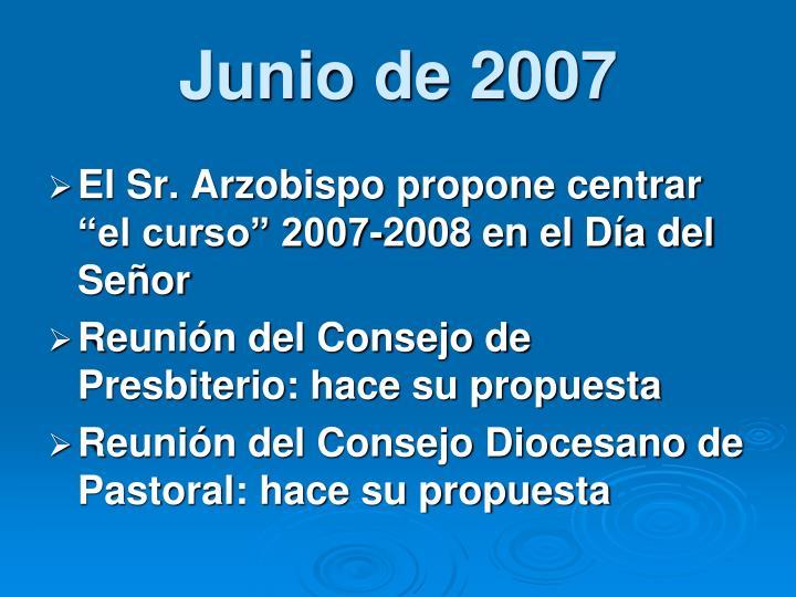 Junio de 2007
