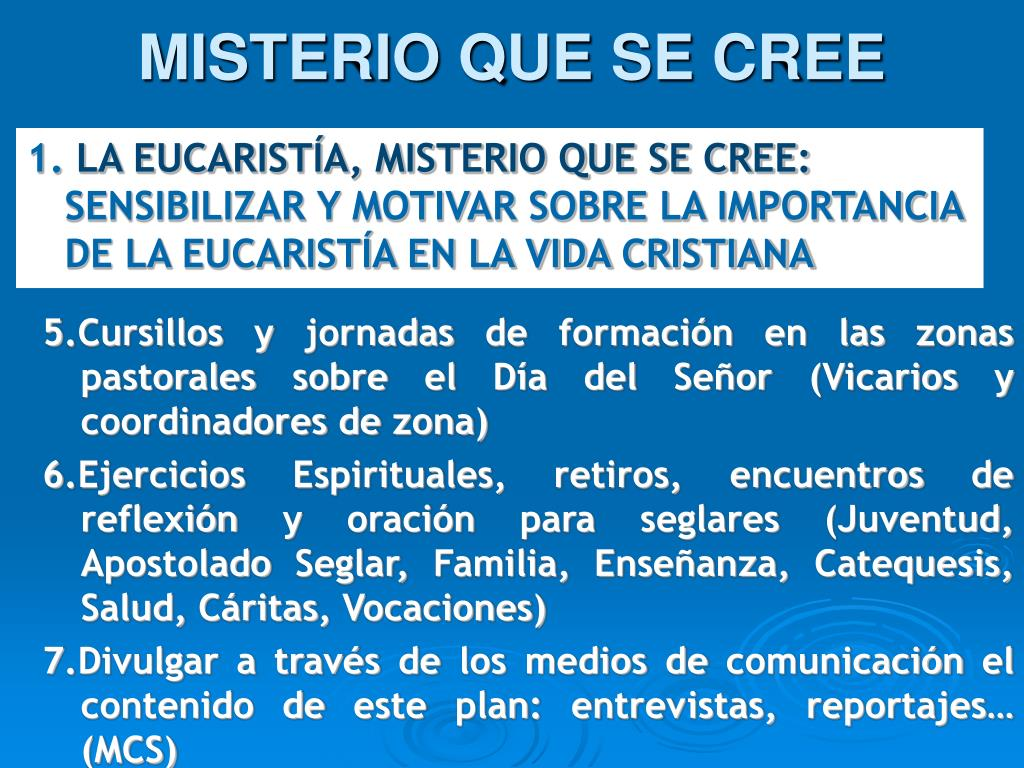 MISTERIO QUE SE CREE