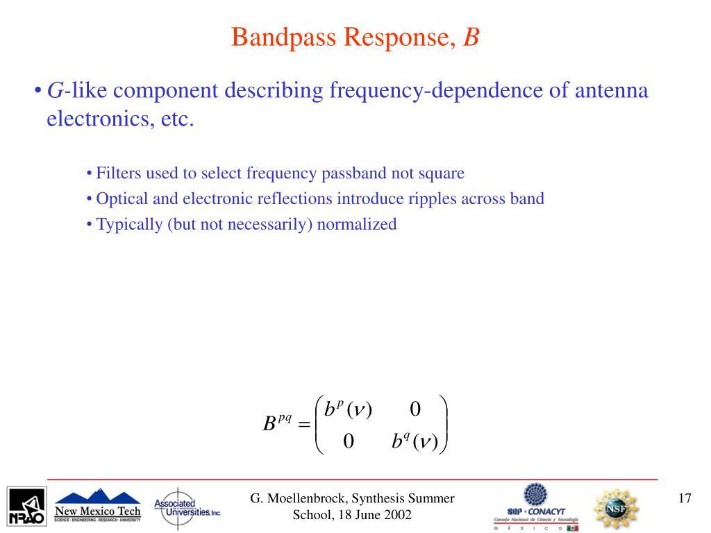Bandpass Response,