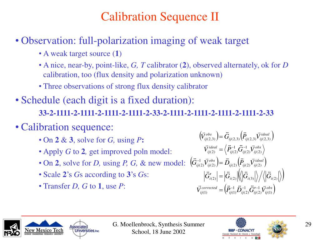 Calibration Sequence II