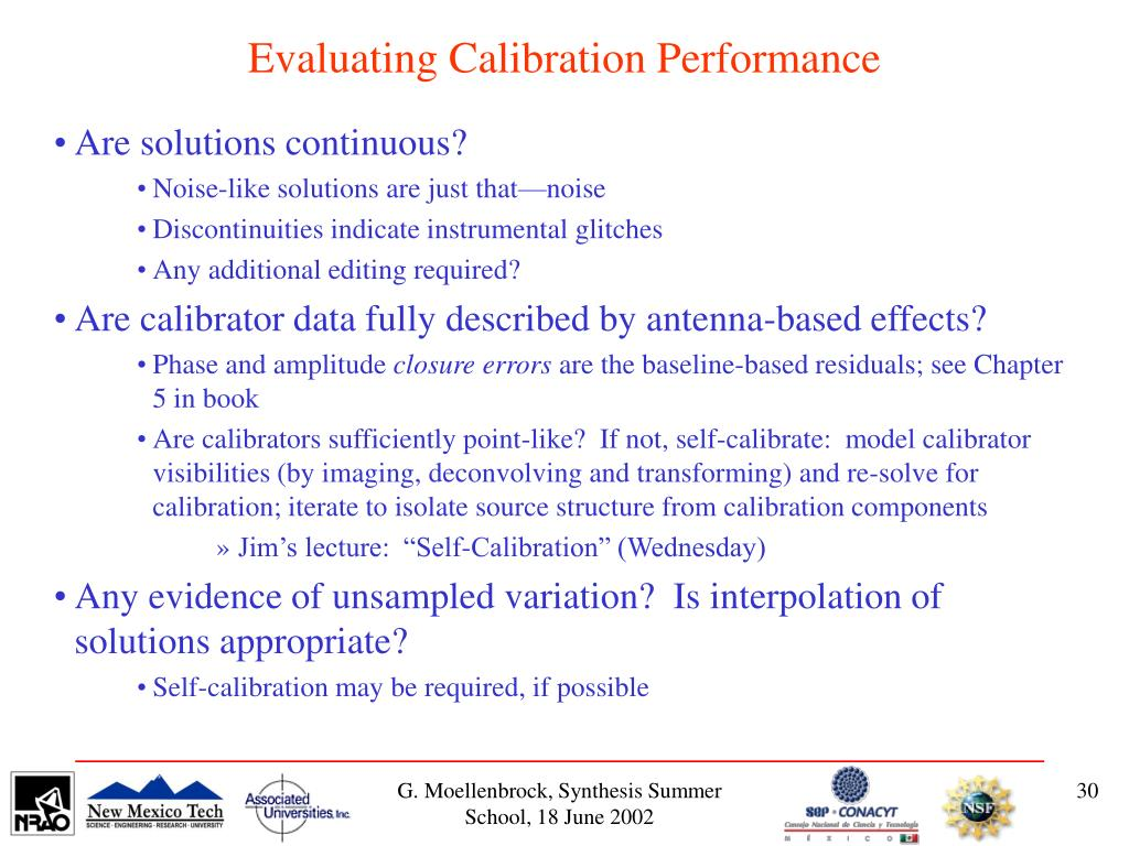 Evaluating Calibration Performance