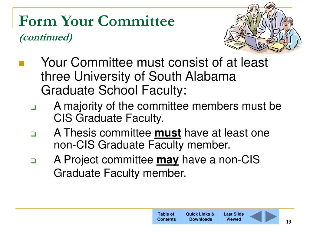 Form Your Committee