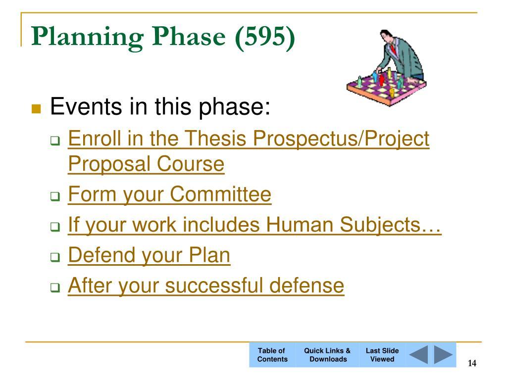 Planning Phase (595)