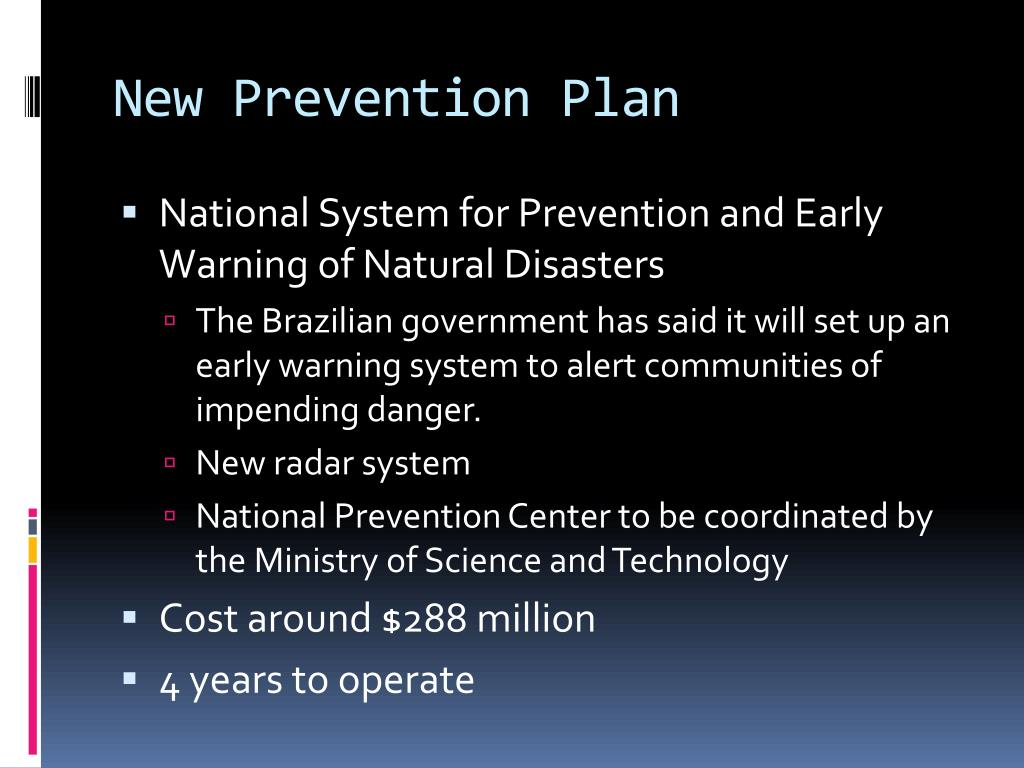 New Prevention Plan