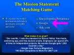 the mission statement matching game5