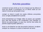 activit s possibles67