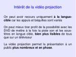 int r t de la vid o projection39