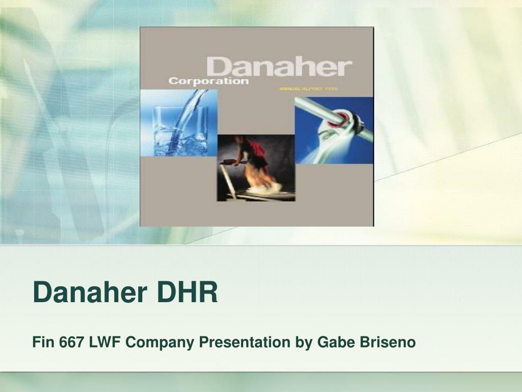 Danaher DHR