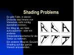 shading problems21