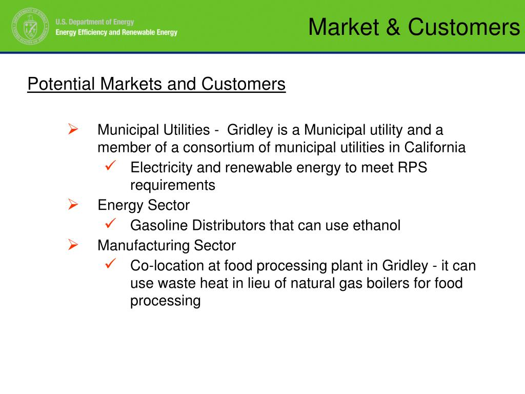 Market & Customers