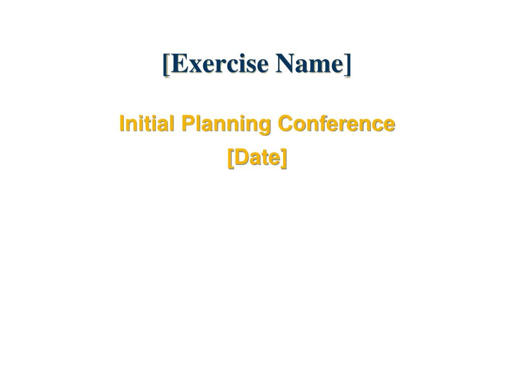 exercise name l.