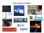 who is marcel verhoef