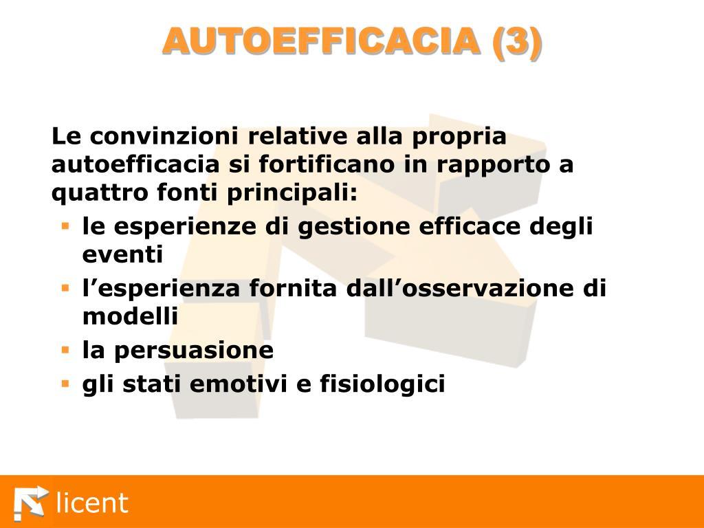 AUTOEFFICACIA (3)