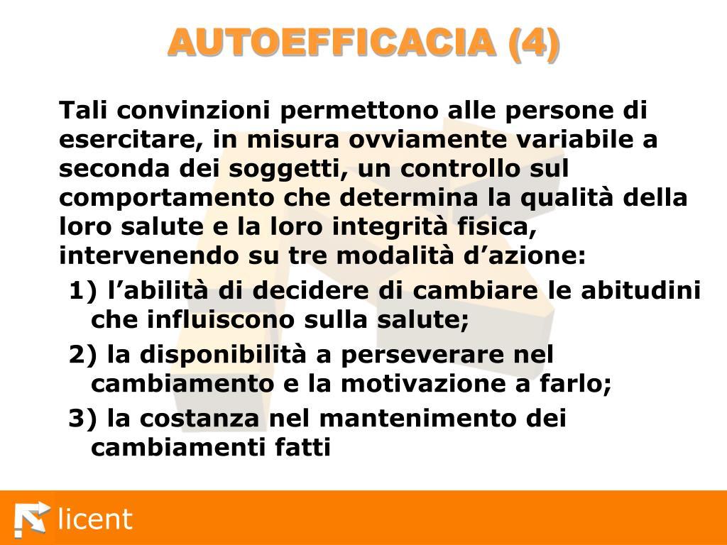 AUTOEFFICACIA (4)