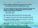 vermont context the uninsured11