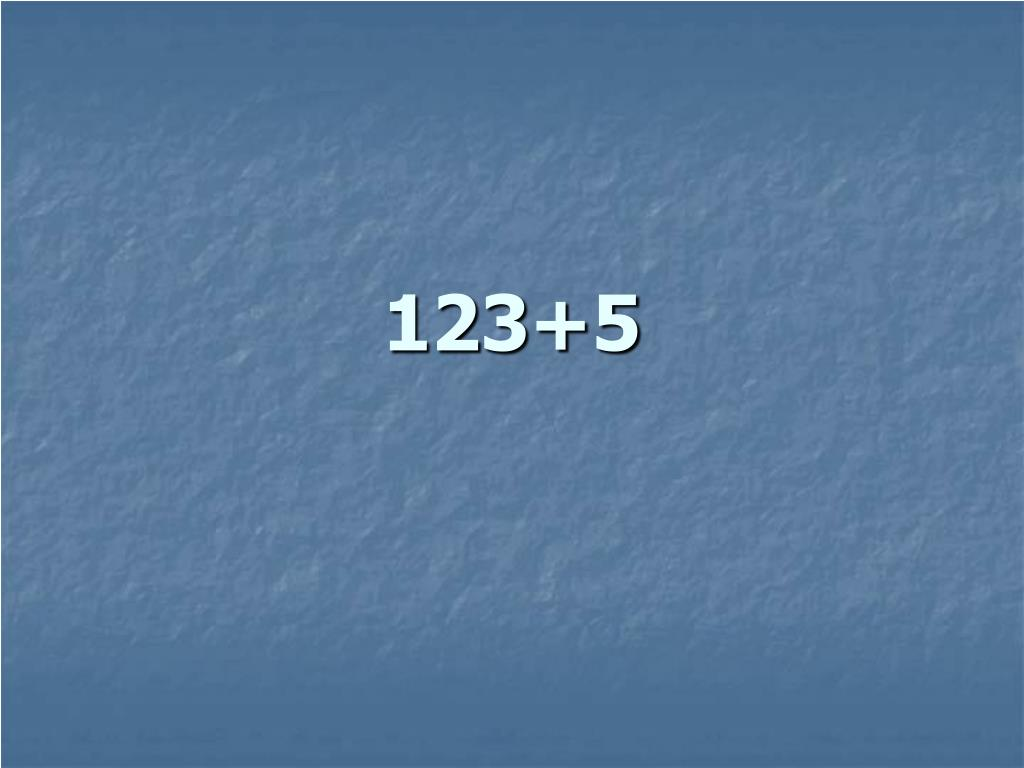 123+5