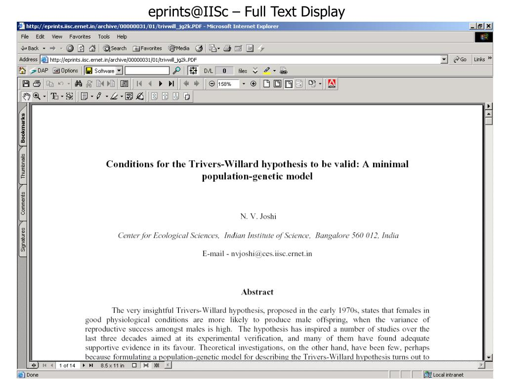 eprints@IISc – Full Text Display
