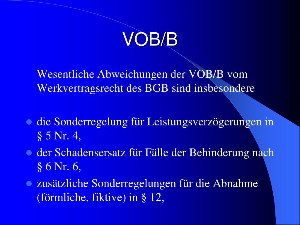 VOB/B